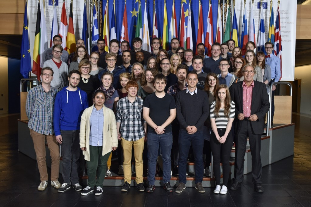 Die Teilnehmenden der Bildungsreise 2014