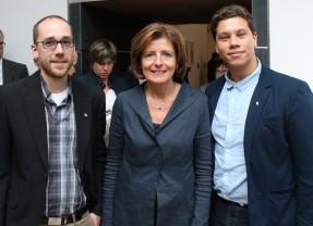Bopparder Flüchtlingshelfer treffen Malu Dreyer