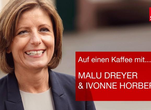 Auf einen Kaffee mit Malu Dreyer und Ivonne Horbert